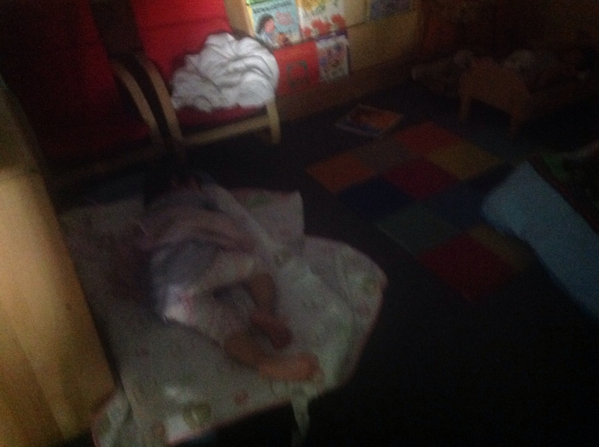 Resting our bodies and minds…(Room 4)