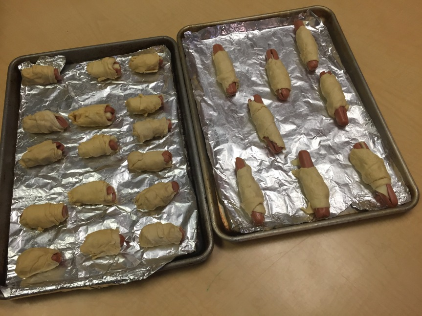 Pigs in a Blanket! Oink oink!