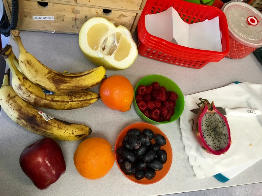Fruit Friday at the Preschool!