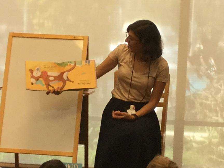 Story time at the Monrovia Library
