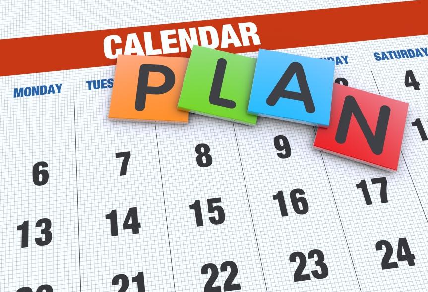 Preschool Calendar 2016-2017
