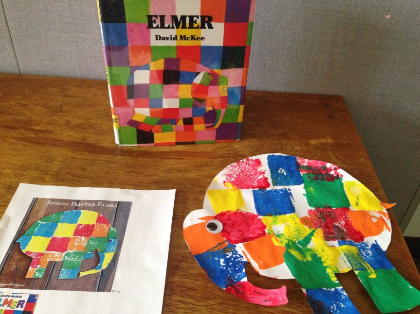Painting Elmer The Elephant