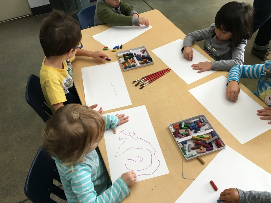 Art time with Room3!