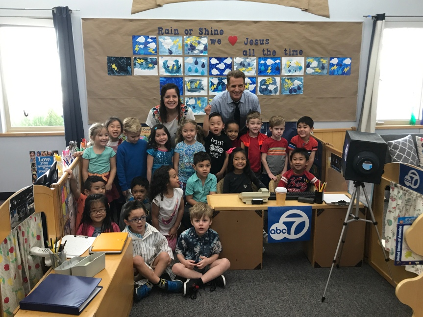 ABC7 Visits PCS Preschool!