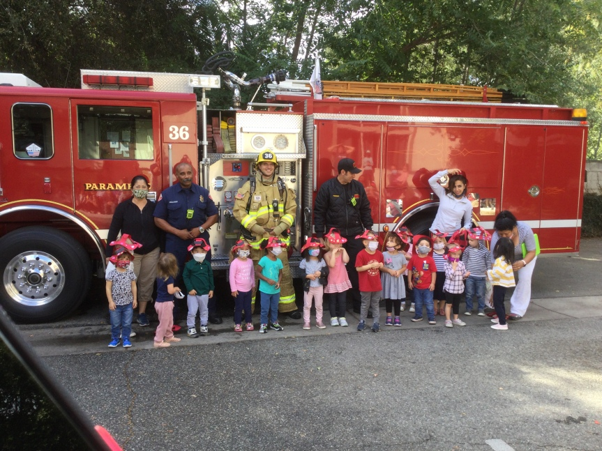 FIREFIGHTERS VISIT